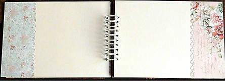 Papiernictvo - Svadobný album,album na fotky /limitovaná edícia - 9575330_