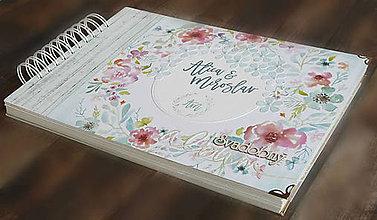 Papiernictvo - Svadobný album,album na fotky /limitovaná edícia - 9575318_