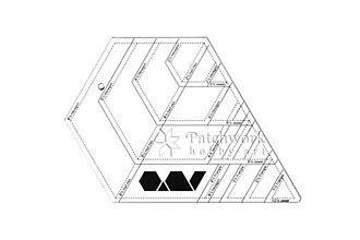 Pomôcky/Nástroje - Pravítko Hexagon Multi - 9574669_
