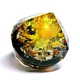 Dekorácie - Diamant - Jantar + Citrín + Šungit * Léčí tělo i Duši - 9577523_