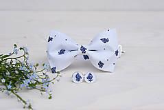 Doplnky - Dvojlistový ľudový motýlik - 9577585_