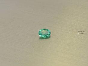 Minerály - Smaragd prírodný 4,2x5,7 mm ovál brúsený - 9576983_