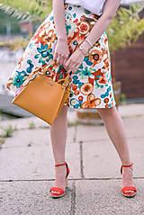 Sukne - Pestrofarebná kruhová sukňa - 9577776_