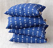 Úžitkový textil - FILKI šupkový ohrievací vankúšik 25 x 15 cm (modrá vzor 180) - 9576526_
