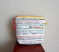 Taštičky - Taštička - patchwork - 9576788_