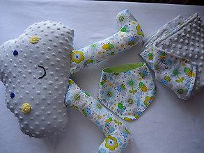 Textil - Obláčik, deka, slintáčik a stužkáčik 2 - 9579652_