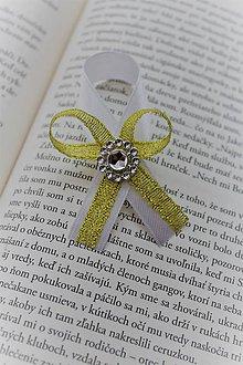 Pierka - Svadobné pierko zlaté - 9580095_