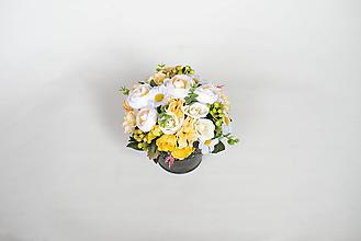 Dekorácie - Jarný aranžmán - zľava! - 9580959_