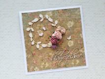 Papiernictvo - Svadobná pohľadnica - 9580003_