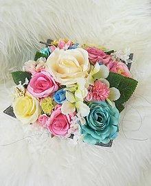 Dekorácie - Kvetinová dekorácia - 9579153_