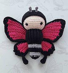 Hračky - Motýľ cyklámenový - 9578910_