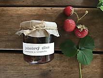 Potraviny - Jahodový džem s rebarborou a levanduľou - 9578979_