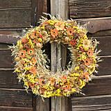 Dekorácie - Prírodný veniec na dvere - 9579903_