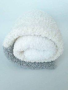 Úžitkový textil - Pletená deka Lujza - 9581603_
