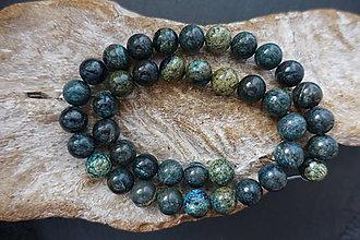 Minerály - Hadec (serpentinit) tmavozelený 10mm - 9579812_