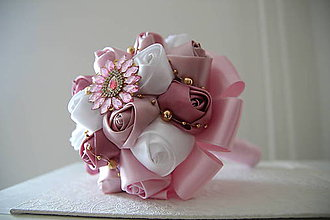 Kytice pre nevestu - svadobná alebo gratulačná kytica - 9581484_