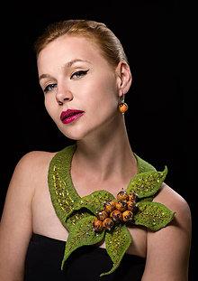 Sady šperkov - Súprava náhrdelník a náušnice - 9580502_