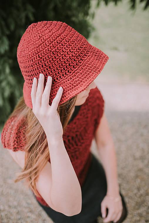 Letný klobúk-100% bavlna