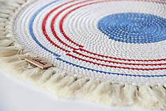 Úžitkový textil - Podložka námořnická - 9582396_