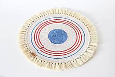 Úžitkový textil - Podložka námořnická - 9582398_
