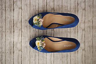 Obuv - Kvetinové klipy na topánky z lúčnych kvetov - 9584324_
