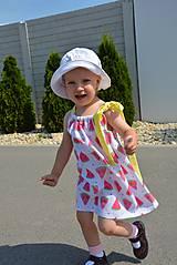 Detské oblečenie - Niky šaty/tunika melon - 9582643_