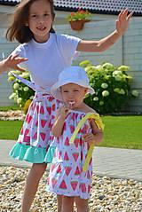 Detské oblečenie - Niky šaty/tunika melon - 9582645_