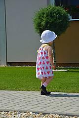 Detské oblečenie - Niky šaty/tunika melon - 9582649_