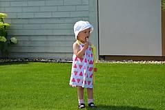 Detské oblečenie - Niky šaty/tunika melon - 9582651_