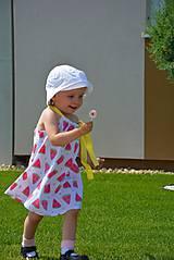Detské oblečenie - Niky šaty/tunika melon - 9582652_