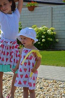 Detské oblečenie - Niky šaty/tunika melon - 9582650_