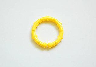 Hračky - Klip -žltý kruh - 9584502_