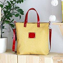 Kabelky - Tina (žlto-červená) - 9581752_