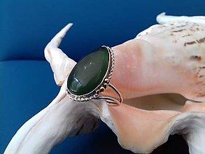 Prstene - prsteň s nefritom - 9583897_