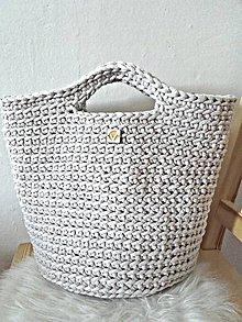 Veľké tašky - TOTE BAG linen - 9582697_