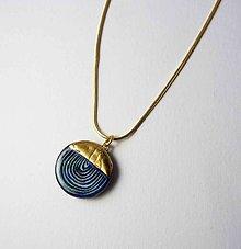 Náhrdelníky - Tana šperky - keramika/zlato - 9582149_
