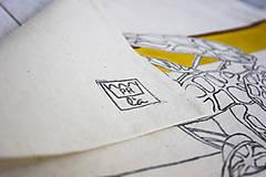 Nákupné tašky - Ručne maľovaná taška Dracea - 9584177_