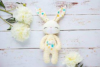 Hračky - Zajačik vanilkový - 9582323_
