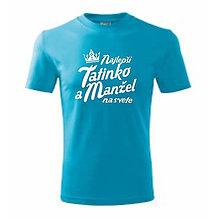 Oblečenie - Najlepší tatinko a manžel na svete - pánske tričko - 9583251_