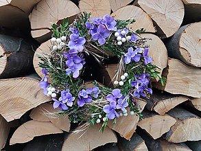 Dekorácie - Celoročný veniec na dvere prírodný - 9583403_