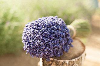 Dekorácie - levanduľová kytička mazzi di lavanda regolati - 9584539_