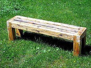 Nábytok - Záhradná lavička - 9582513_