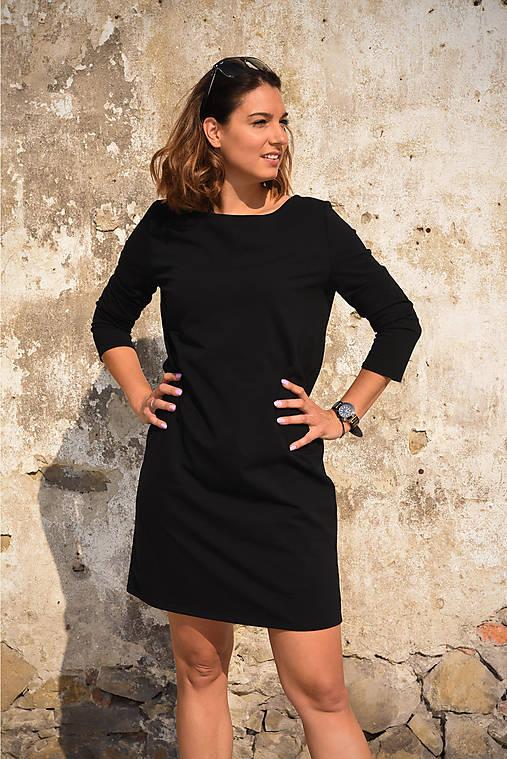 Šaty Mary - čierna   miracles.style - SAShE.sk - Handmade Šaty 871bbec7446