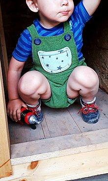 Detské oblečenie - Gaťuše-detské kraťasy I. - 9581660_
