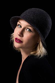 Čiapky - Plstený klobúk I - 9584702_