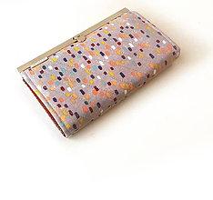 Peňaženky - Peňaženka s priehradkami Farebné maskovanie - 9584433_