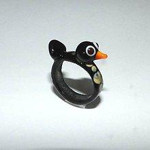 Prstene - Sklenený prsteň - 9583313_