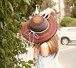 Čiapky - Origo klobúk hačkovanec limit - 9584487_