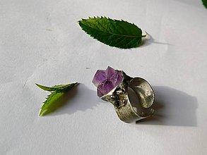 Prstene - Čarovný ametyst - kryštál, tiffanny - 9587654_