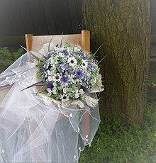 Dekorácie - svadobná kytica: z drobných lúčnych kvietkov - 9585151_